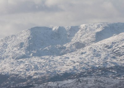 Coniston mountains from Wansfell Pike