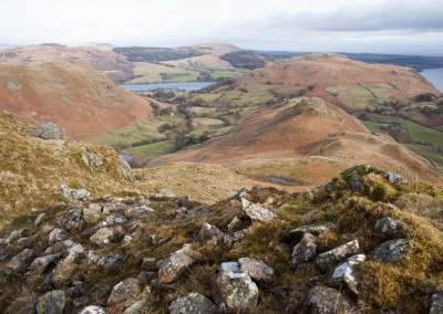 Looking north from Beda Fell, Ullswater