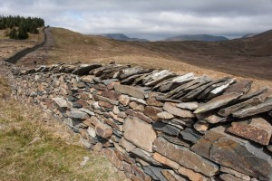 Dry-stone walling on Sour Howe