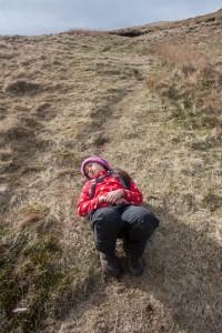Hannah resting again on Sallows