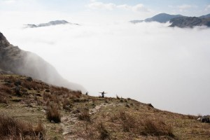 Above the clouds, Langdale