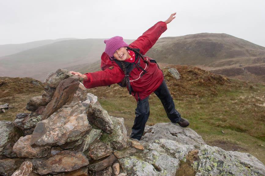 Wind and Rain on Fellbarrow