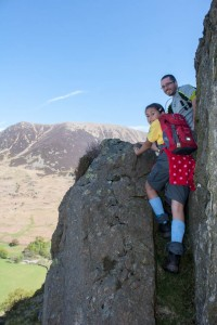 The Squeeze on Rannerdale Knott