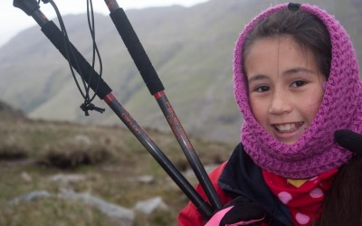 Blown and Battered on Bowfell
