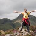Hannah on Lingmoor Fell