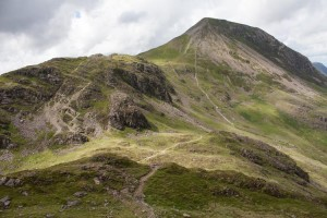 Seat and High Crag from Haystacks