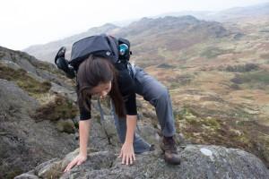 Scrambling on Harter Fell