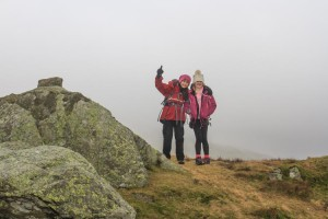 The summit of Stone Arthur near Grasmere in the Lake District
