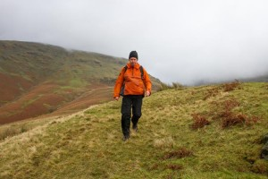 Descending from seat sandal over Great Tongue