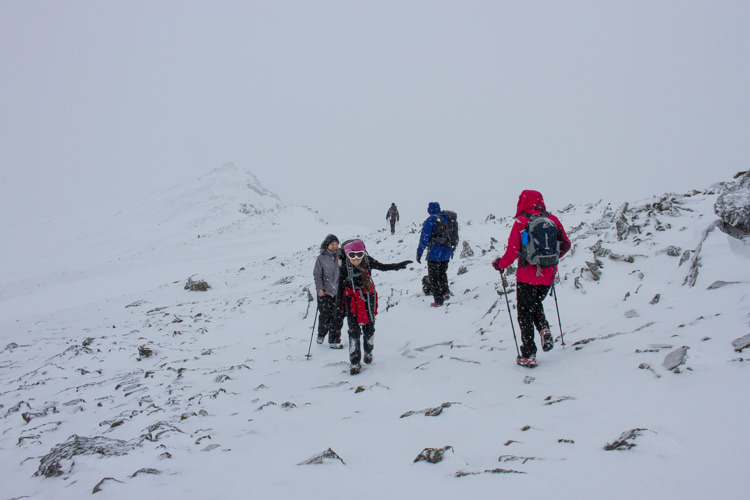 Descending to the Walna Scar Road