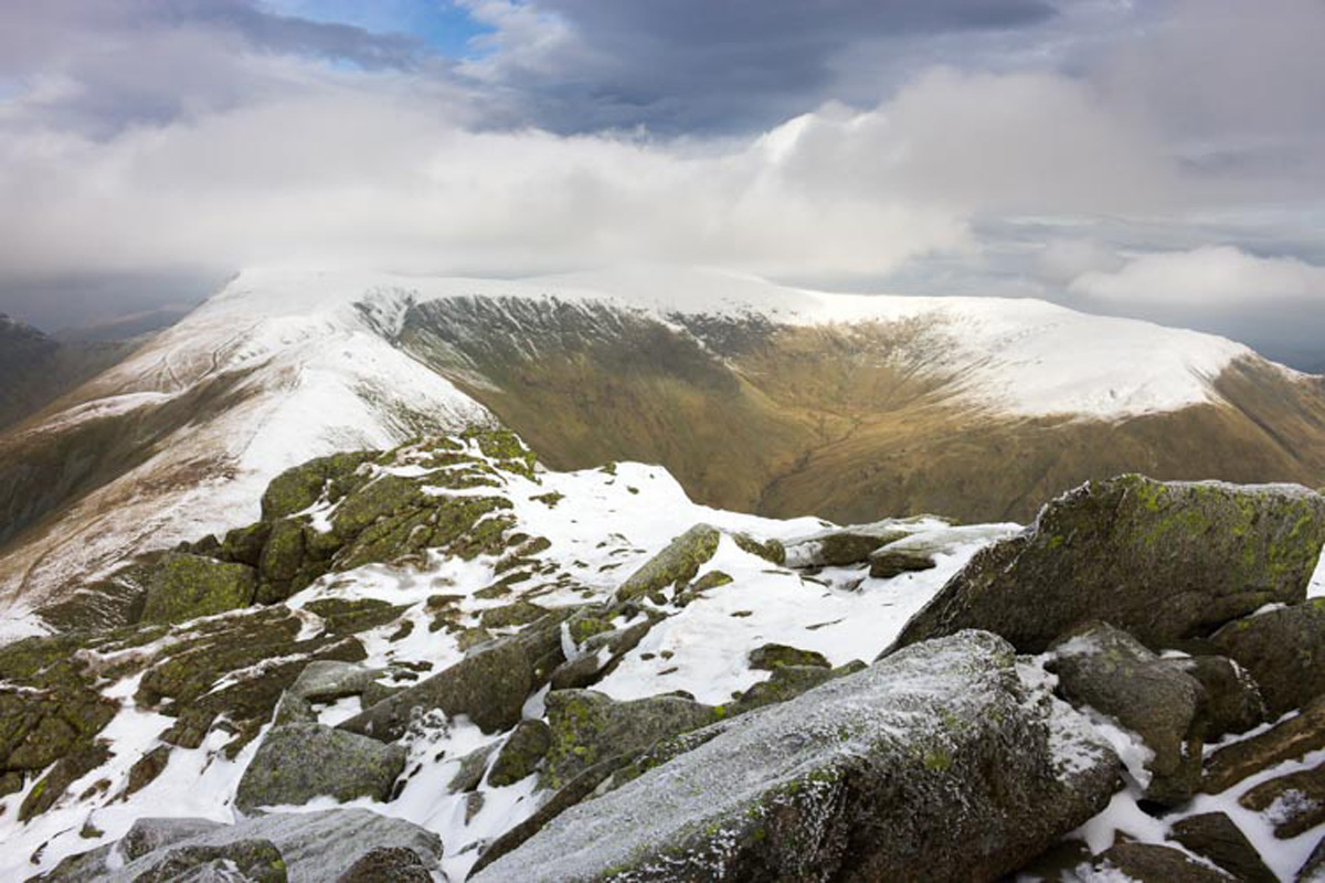 Looking from Ill Bell to Froswick and Thornthwaite Crag
