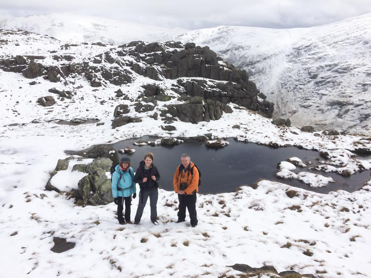 Escaping from blizzards on Hartsop
